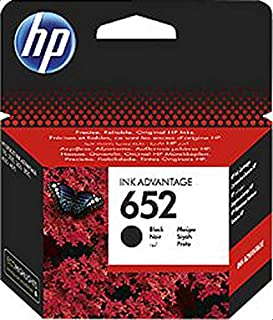 HP 652 Black Original Ink Cartridge (F6V25AE)
