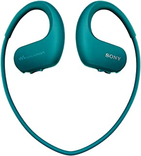 Sony NW-WS413 Waterproof All-in-One MP3 Player, 4 GB - Veridian Blue