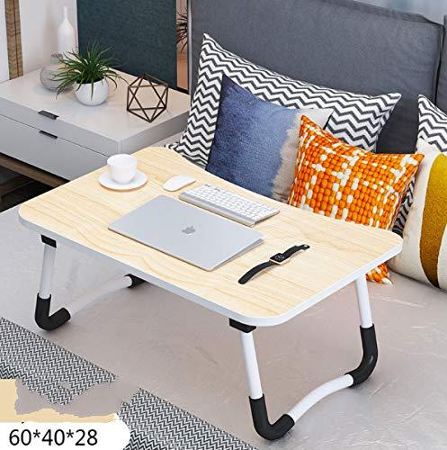 Json LED Laptop Mesa portátil Mesa Neetto Ajustable Mesa de Cama para Portátil (60 * 40 Beige)