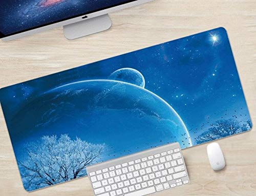 Keyboard Mouse Pads Anti-Slip Mousepad Pray Cute Kitten Animal Cat Extended Large Thick Gaming Mouse Mat Pad with Stitched Edge Cute Funny Novel for Games Work Study PC Computers Photo #2