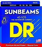 DR String NMR-45 Sunbeam Jeu de cordes pour guitare basse