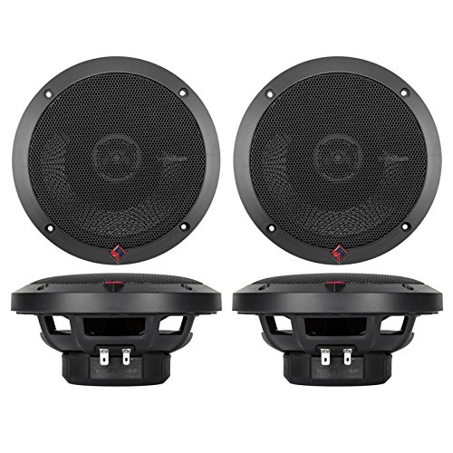 "4 New Rockford Fosgate P1650 6.5"" 2-Way Full Range Car Audio Coaxial Speakers"