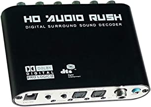 Best digital coaxial output to 5.1 surround system Reviews