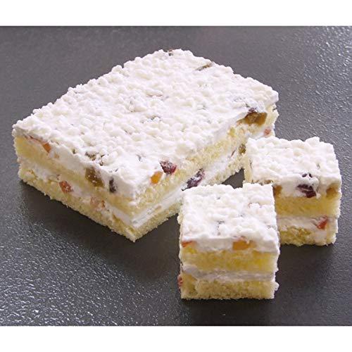 見方) リコッタチーズとドライフルーツのケーキ 約330g