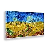 Giallobus - Cuadro - Vincent Van Gogh - Campo de Trigo con vuelos de Cuervos - Lienzo...