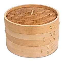 Bamboo Steamer - Classic Traditional Design