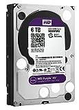 WD Purple 6 TB Festplatte für Videoüberwachung - Intellipower SATA 6 Gb/s 64MB Cache 3.5 Inch - WD60PURX