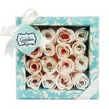 Gloss - caja de baño, caja de regalo para mujeres - Set de Baño Regalo - Wild Garden - Magnolia