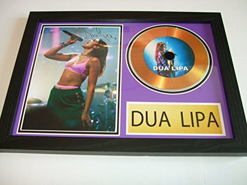 Disco dorado firmado por Dua Lipa 7