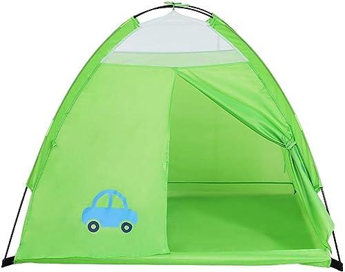 todos los bienes son especiales CC-tent Carpa Infantil Interior Casa Casa Casa de Juegos Poliéster Projoección del Medio Ambiente (Color  verde)  grandes ofertas