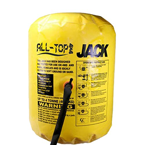 ALL-TOP Off-Road Exhaust Air Jack - 4000kg/8800lbs, 78cm/31inch Lift - Fit Air Compressor & Exhuast