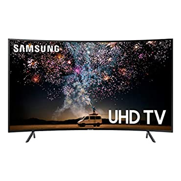 Samsung UN65RU7300FXZA Curved 65 4K UHD 7 Series Ultra HD Smart TV with HDR and Alexa Compatibility (2019 Model)