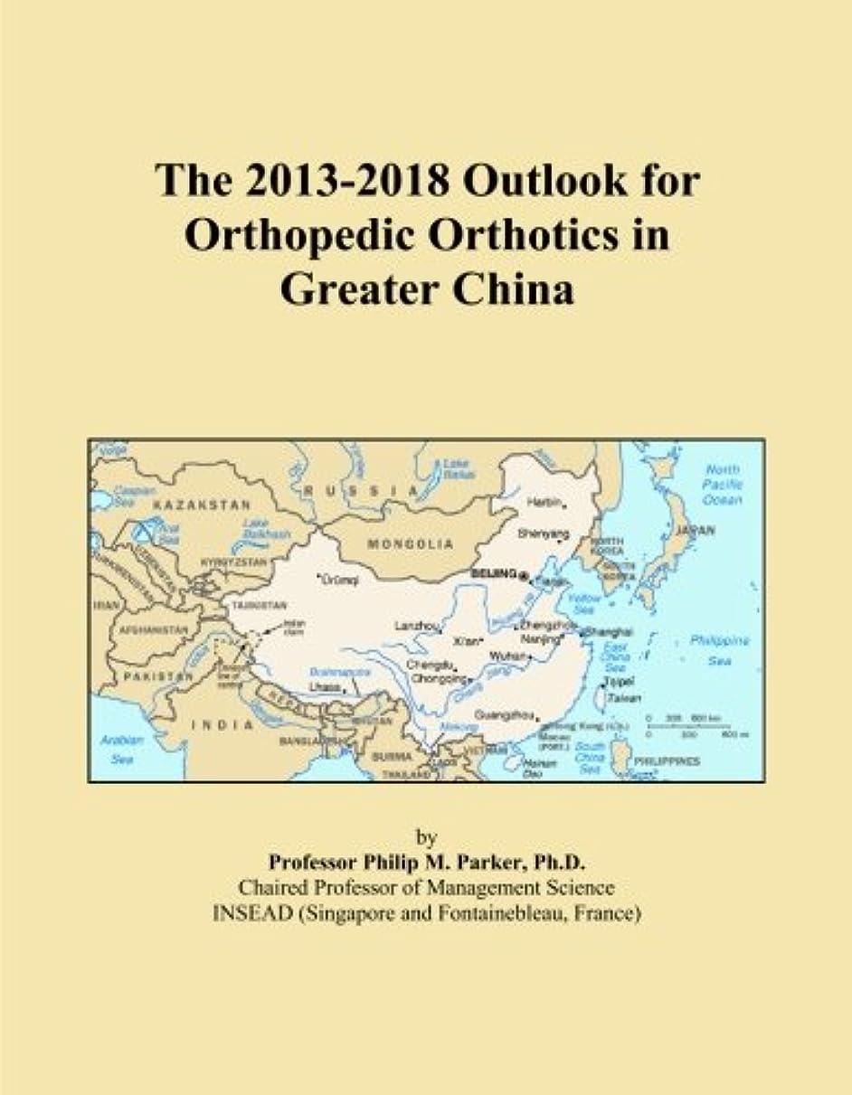 顕現安西一定The 2013-2018 Outlook for Orthopedic Orthotics in Greater China