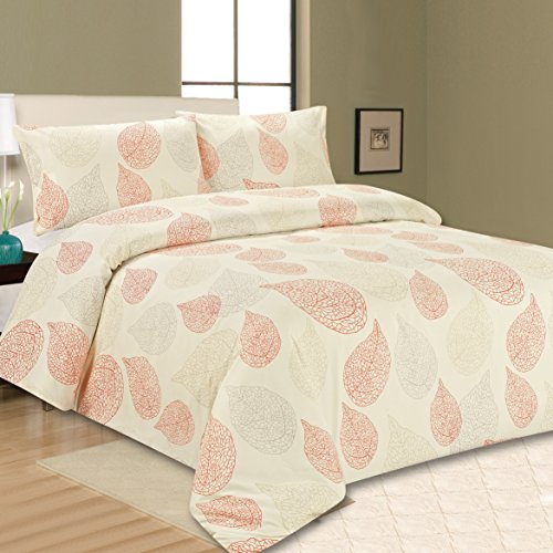 Sonia Moer Premium Soft Duvet Cover Set (King, Happy Fall)