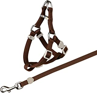 Trixie - Cat One Touch Harness with Leash, Assorted Colors, One Size