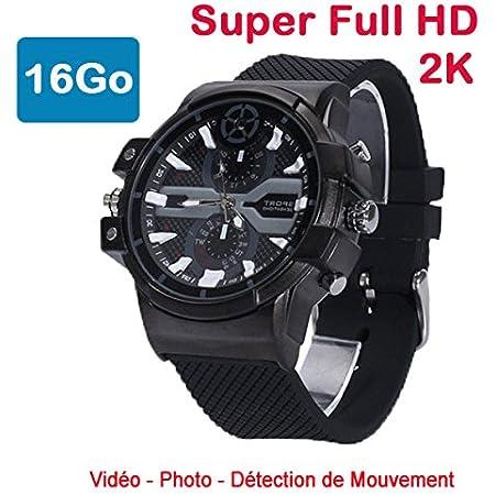 Cyber Express Electronics Uhr Mini Kamera Spion 2 K Kamera