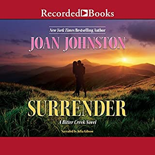 Surrender                   By:                                                                                                                                 Joan Johnston                               Narrated by:                                                                                                                                 Julia Gibson                      Length: 10 hrs and 25 mins     20 ratings     Overall 4.8