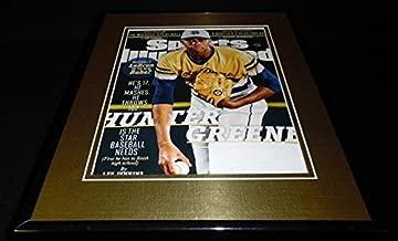 Hunter Greene 11x14 Framed ORIGINAL 2017 Sports Illustrated Cover