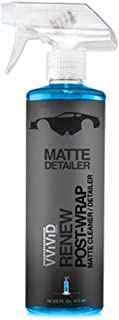 VViViD Matte/Satin Finish Cleaner & Detailer Spray with UV Protection for Vinyl Wrap & Paint (16oz)