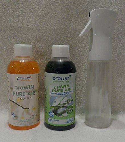 ProWin Pure Air 500 ml & Green Tea + proWin Air Pump Flasche
