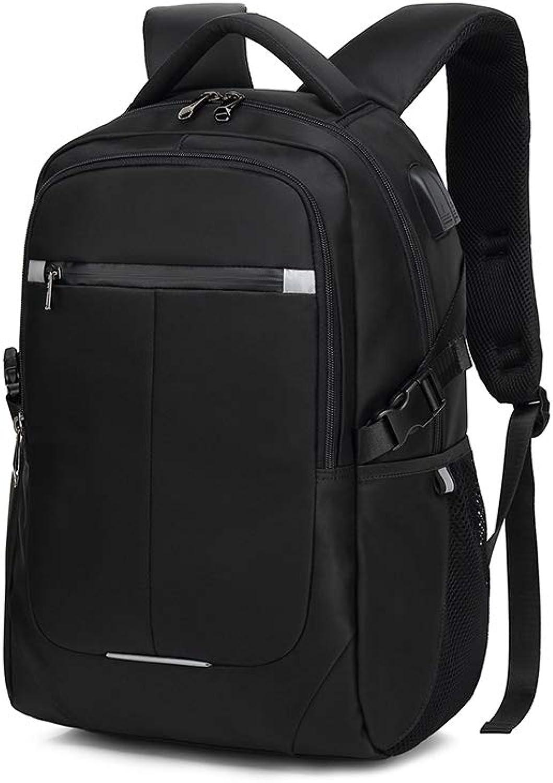 NDYE 1517 Laptop Backpack USB Charge Computer Backpacks Waterproof Bag Travel School Backpack for Male