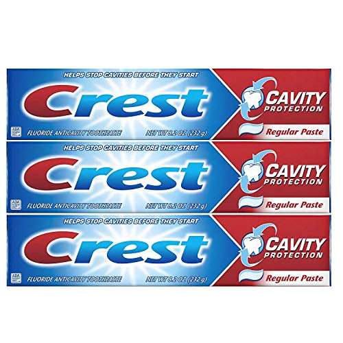 Crest Toothpaste Cavity Protection Regular (Pack of 3)