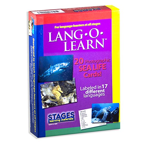 Lang-O-Learn Cards - Sea Life by Stages Publishing