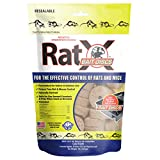 EcoClear Products 620118, RatX Bait Discs, All-Natural Non-Toxic Humane Rat and Mouse Killer, 1 lb. Bag Contains 45 Discs