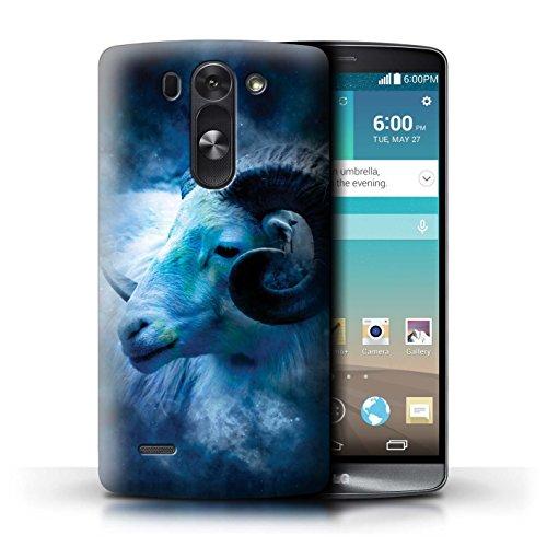 Stuff4® Carcasa/Funda Dura para el LG G3 Mini S/D722 / Serie: Zodíaco Estrella Firmar - Aries/Ram