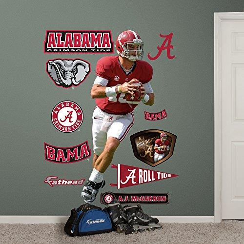 NCAA Alabama Crimson Tide Car Magnet Bama Small, 2 Pack