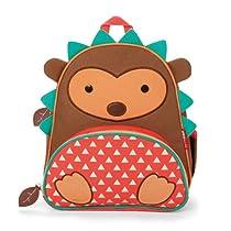 Skip-Hop-Zoo-Pack-Mochila-diseno-hedgehog-color-marron