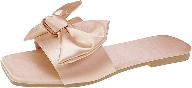NLLSHGJ Sandals For Women Summer New Women's Shoes Flat Heel Squ
