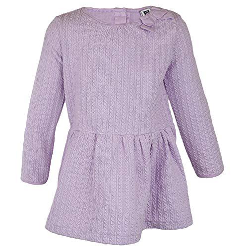 JANIE와 JACK GIRL LILAC 케이블 니트 드레스 재생 - 3-6 개월