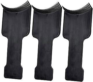 Lurrose 3本ヘアカラーブラシヘアダイブラシヘアダイアプリケータヘアカラーブラシ(黒)