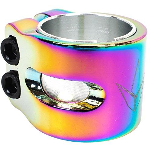Blunt–Collar 2tornillos Oil Slick–Collar de sujección para patinete–Diverso o multicolor–Talla única