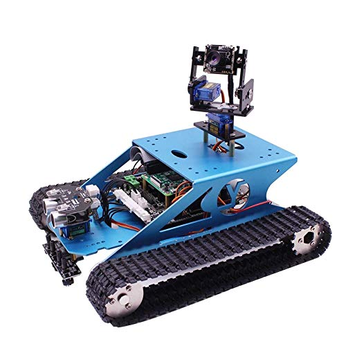 New Robotic Kit WiFi Wireless Video Programming Electronic Tank DIY Robots For Kids/Adults Compatible RPI