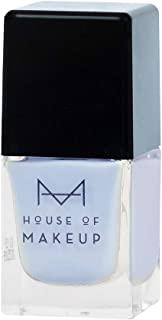 House of Makeup Matte Nail Polish - Cornflower Blue, Long Lasting Quick Dry Nail Paint with Velvet Smooth Finish - Blue Chalcedony Colour (12ml)