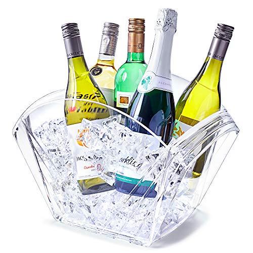 Enfriador de bebidas VIP – Cubo de bebidas, recipiente para bebidas, cubo de vino y champán, tina de fiesta