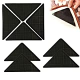 Non Slip Rug Grip, 8 Pack Carpet Grippers For Carpeted, Floor Mats, Fixed