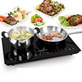 NUTRICHEF PKSTIND48 Double Induction Cooktop