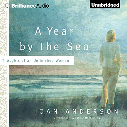 A Year by the Sea audiobook cover art