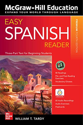 Compare Textbook Prices for Easy Spanish Reader, Premium Fourth Edition Easy Reader 4 Edition ISBN 9781260463606 by Tardy, William