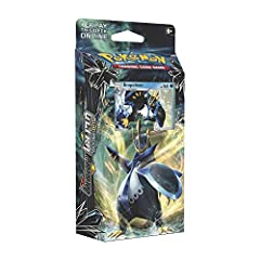 60 Pokemon card deck 1 metallic coin Damage counters 1 deck box 1 Code card to play this deck online
