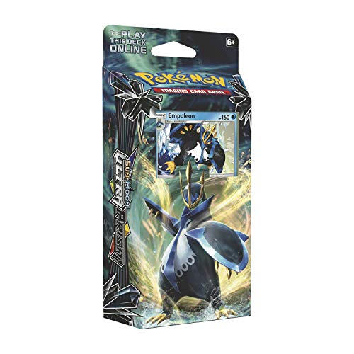 Pokemon Cards Sun & Moon Ultra Prism Imperial Command Theme Deck + 1 Metallic Coin + 60 Card Deck, Multicolor