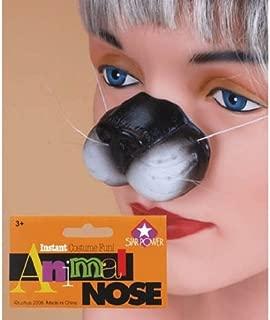 Loftus International Star Power Cute Kitty Cat Adjustable Nose White Black One-Size Novelty Item