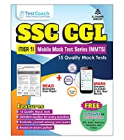 S.Chand Test Coach SSC CGL (TIER1) Mobile Mock Test Series (MMTS) - 15 Quality Mock Tests