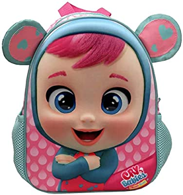 Mochila Infantil Eva 3D Bebés Llorones Lala 30x11x21 Cm