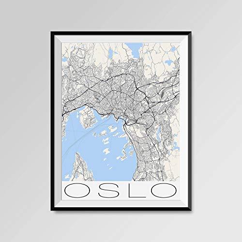 Erti567an OSLO - Mapa de Oslo