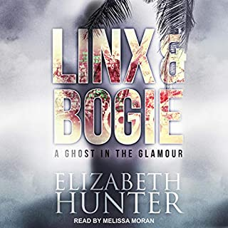 A Ghost in the Glamour     Linx & Bogie Mysteries, Book 1              By:                                                                                                                                 Elizabeth Hunter                               Narrated by:                                                                                                                                 Melissa Moran                      Length: 2 hrs and 18 mins     12 ratings     Overall 3.8