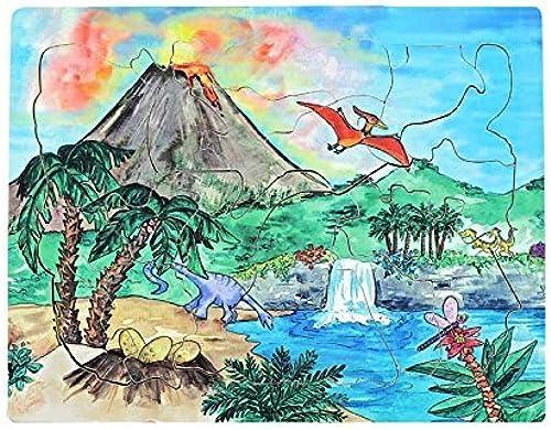 mejor calidad Flipzles Dinosaur Volcano Play Set Set Set & Puzzle by Flipzles  online barato